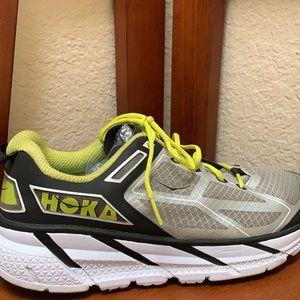 Hoka One One Clifton Running Shoes..